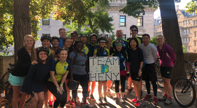 HFNY Bike Ride 2019 group